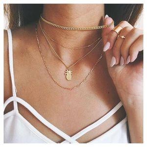 Jewelry - RESTOCKED 🍍Pineapple Lovers Choker Necklace